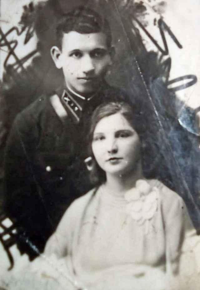 Декабрь 1936-го — свадьба Василия и Анны.