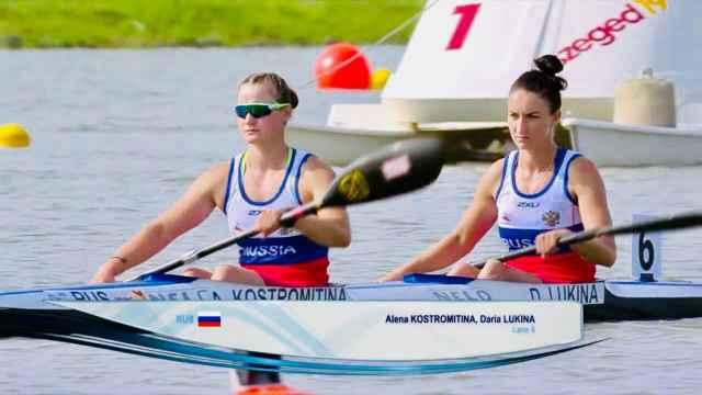 Дарья Лукина вместе с петербурженкой Аленой Костромитиной показали третье время в заездах женских двоек на дистанции 1000 метров.