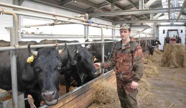 Фермер Игорь Лаврентьев из Старорусского района на средства гранта построил современную ферму, приобрёл коров и стал производить в год свыше 200 тонн молока.