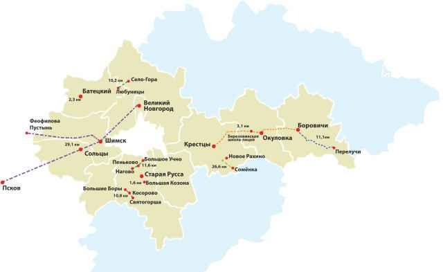 Участки дорог, которые будут отремонтированы в 2020 году. Инфографика Алёны ГЕРЦ