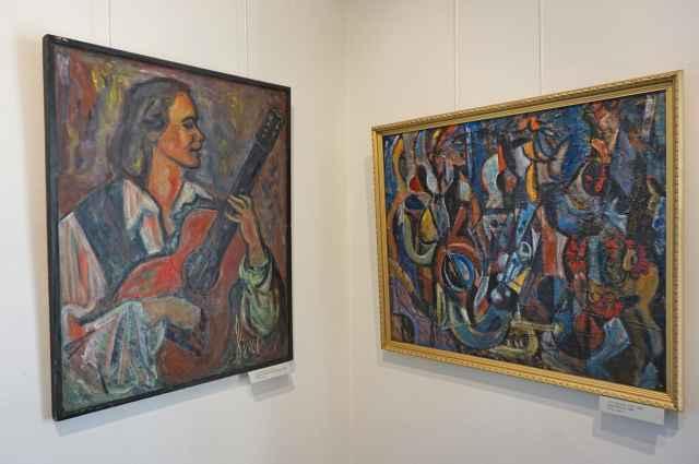 В Никольском соборе проходит выставка, приуроченная к 90-летию Анатолия Ивановича Завьялова. 0+