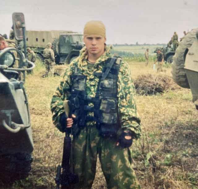 Командировка в Чечню. 2003 год.