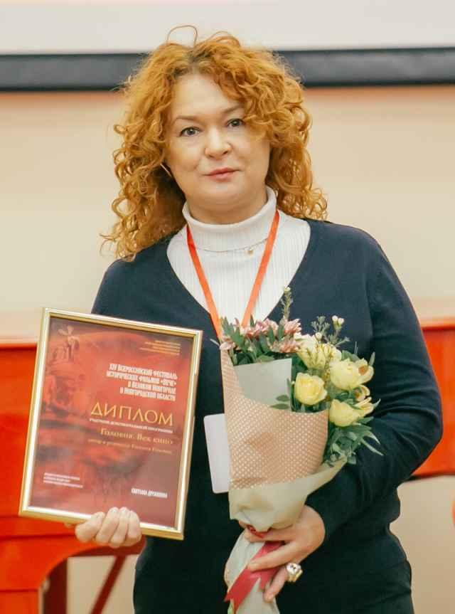 Екатерина Головня привезла на «Вече» документальный фильм «ВГИК. Ополчение».