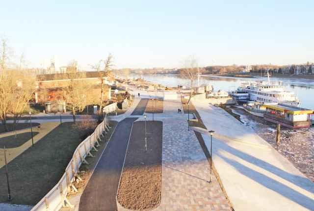 Реконструкция Софийской набережной будет продолжена в 2021 году.