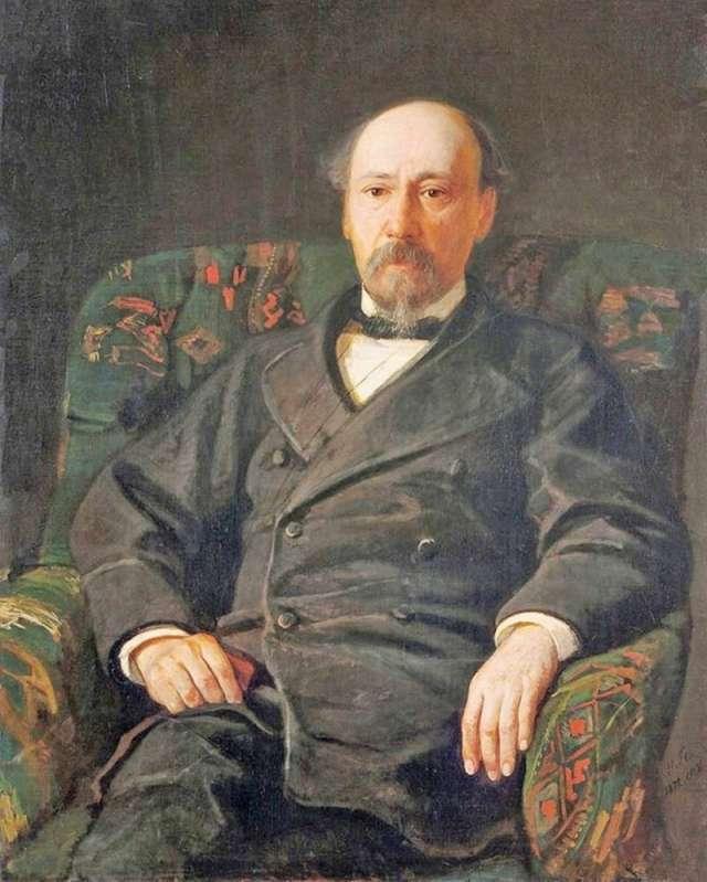 Портрет Н.А. Некрасова. Художник Н.Н. Ге, 1872 г.