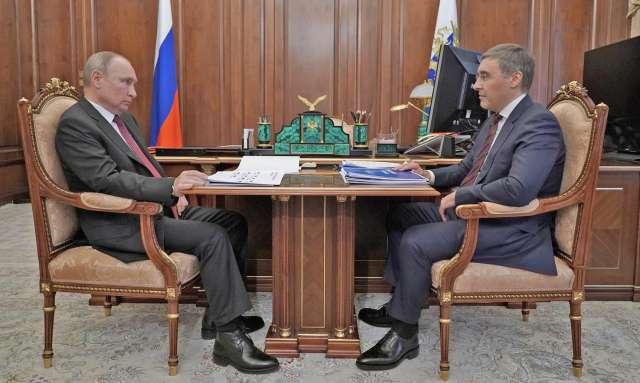 Владимир Путин обсудил с Валерием Фальковым план мероприятий Года науки и технологий.