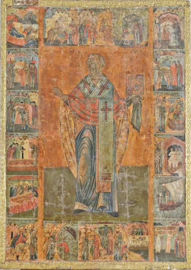 Впервые икона из Николо-Корельского монастыря упоминается в1857 году в «Описании Новгородского архиерейского дома».