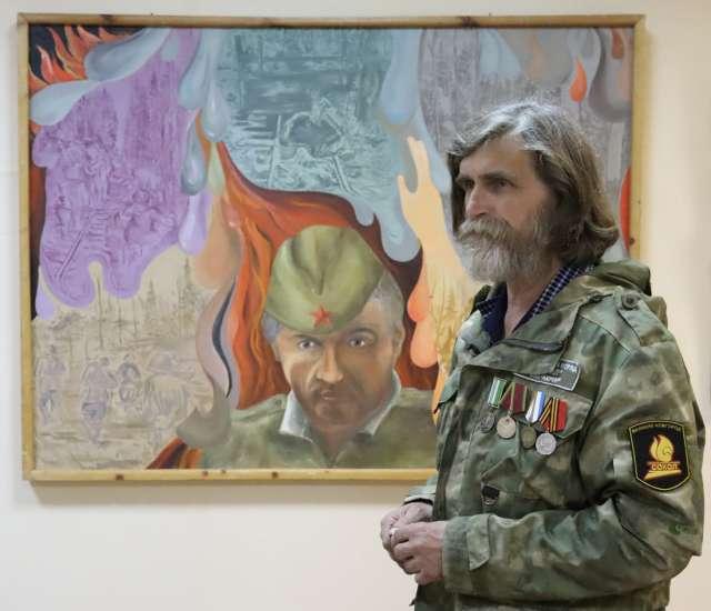 Этого солдата Николай Георгиевич нашёл в Мясном Бору. А потом увидел его во сне.