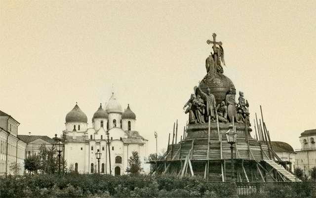 Август 1941 года. Немецкий снимок времён оккупации.