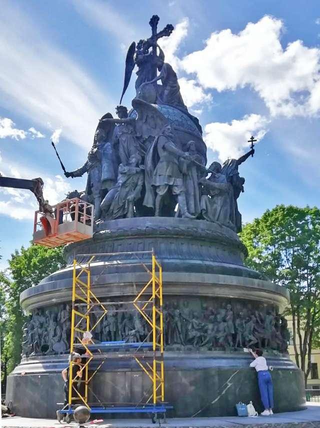 Сотрудники «Наследия» уже провели визуальный осмотр памятника.