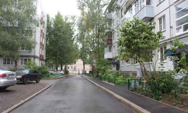 Благодаря проекту «ФКГС» во дворах ремонтируется дорожное полотно.