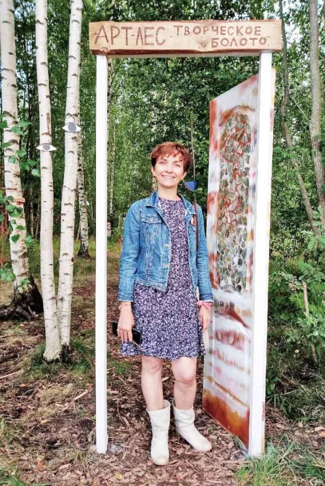 С лёгкой руки Светланы и её единомышленников роща на Псковской превратилась в арт-лес с отдельным входным порталом.