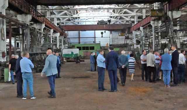 Представители компаний на месте оценили возможности технопарка «Русская промышленность».