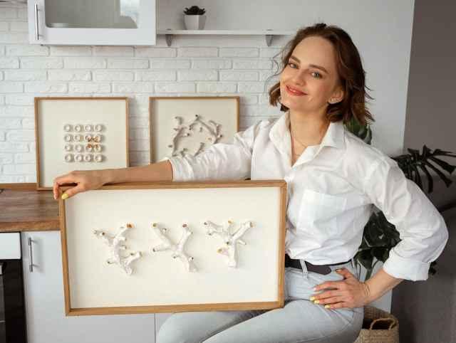 Бизнес Анны Кравченко под брендом «Мята» специализируется на изготовлении и продаже через Интернет керамики ручной работы.