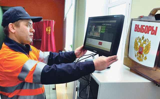 Камеры видеонаблюдения начнут работать на избирательных участках 16 сентября.
