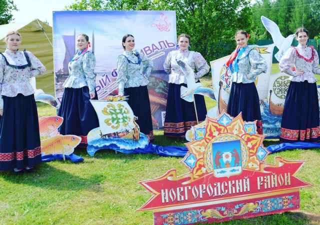 «ЛадкАня» на фестивале «Хоровод традиций».