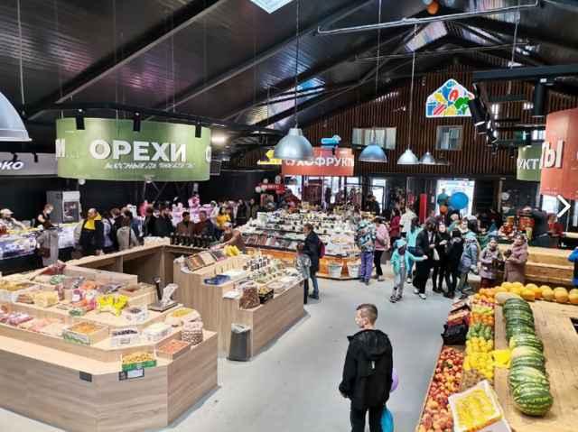 Инвестиции в реновацию Западного рынка составили 100 млн рублей.