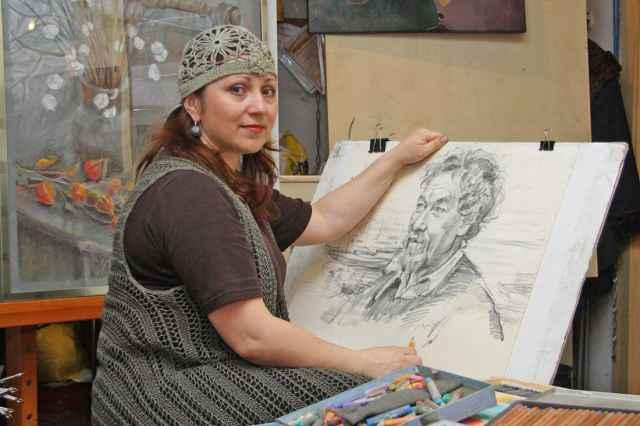Светлана Гарбар, портретируя людей, показывает их светлую сторону и стержень характера.