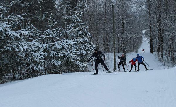 Для лыжного спорта Валдай место идеальное: кататься здесь можно вплоть до мая