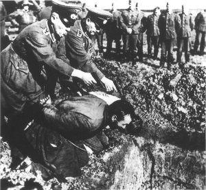 Публичные казни были фирменным стилем фашистов