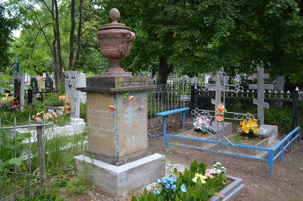 Симоновское кладбище — место упокоения Николая Мевеса
