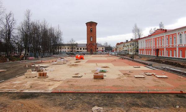 Уже можно представить, как будет выглядеть площадь после реконструкции