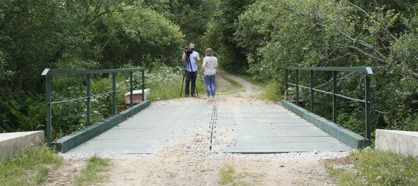 Этот мост выдержит нагрузку до 60 тонн