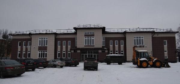 Культурный центр в Боровичах строился на протяжении двух лет