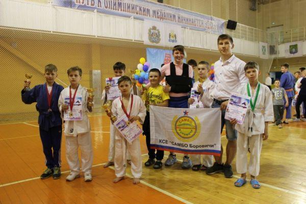 Виктория Чистякова со своими воспитанниками