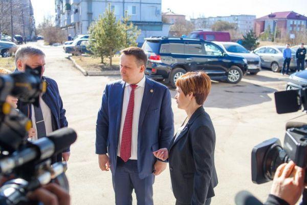 Андрей Никитин побывал с рабочей поездкой в Чудовском районе