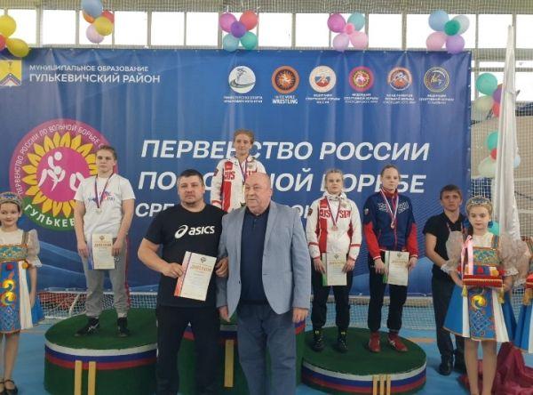 Вольноборка Дарья Герасимова выиграла бронзу первенства России