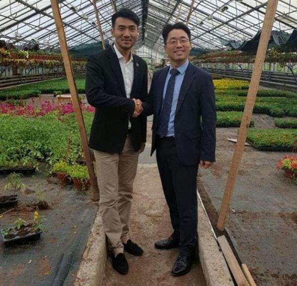 Вице-консул республики Корея побывал в новгородском бизнес-инкубаторе «Х10»