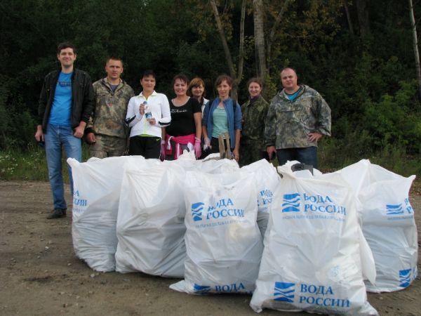 Более 3,5 тысяч новгородцев приняли участие в экологической акции «Вода России»