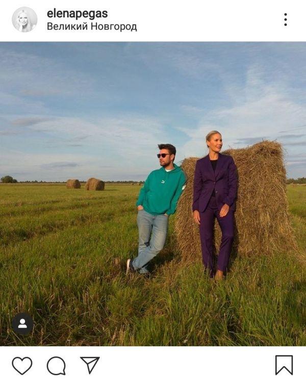 Известная телеведущая выложила в свой Instagram «новгородское» фото.