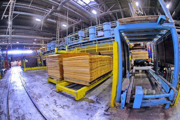 Проект по расширению фанерного производства в Чудове завершен.
