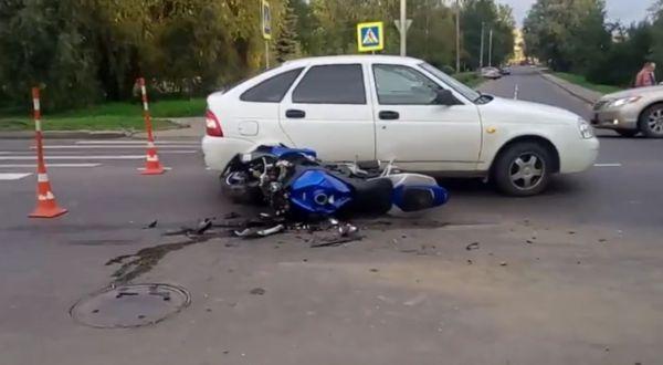 Местом происшествия стал перекресток улиц Большая Московская и Пестовская.