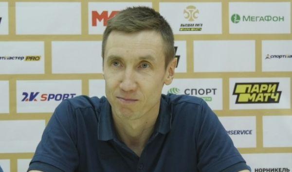 Главный тренер новгородских футболистов Алексей Степанов остался доволен игрой.