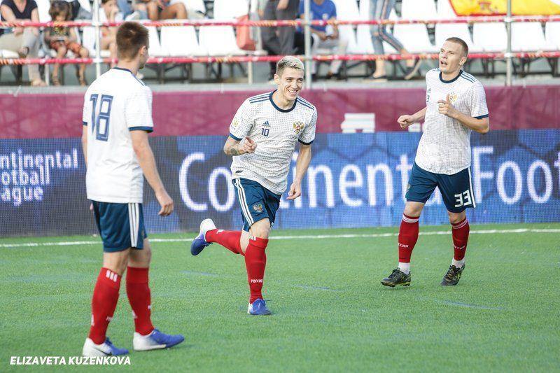 Андрей Павлов отметился одним точным ударам в матче с Испанией и двумя ударами в поединке с Перу.