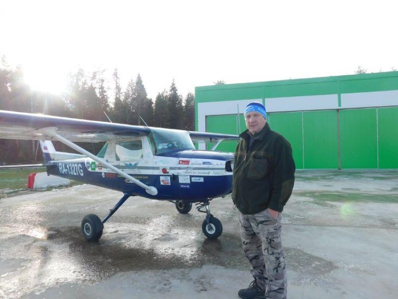 Фото Киры Соболевой На этом самолёте Олег Нехорошев пролетел тысячи километров.