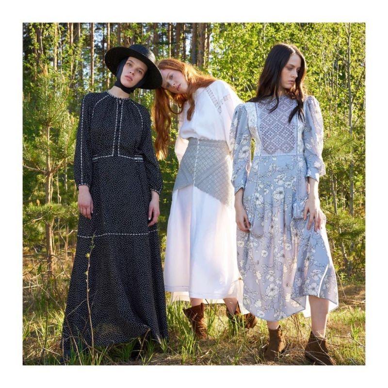 В конце минувшей весны был открыт первый магазин «Крестецкой строчки» в Санкт-Петербурге