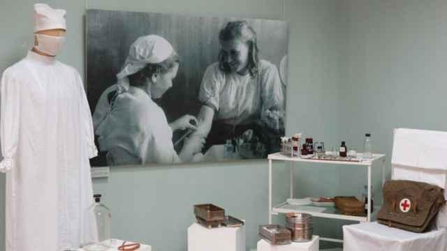 Трансляции с выставки «Боровичи – подлинный город-госпиталь» можно также увидеть в группе в соцсети Новгородского музея-заповедника.