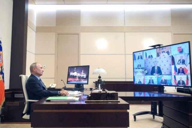 К Владимиру Путину губернатор Новгородской области обратился во время заседания наблюдательного совета «Агентства стратегических инициатив по продвижению новых проектов»