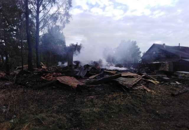 Пожар в великом новгороде фото