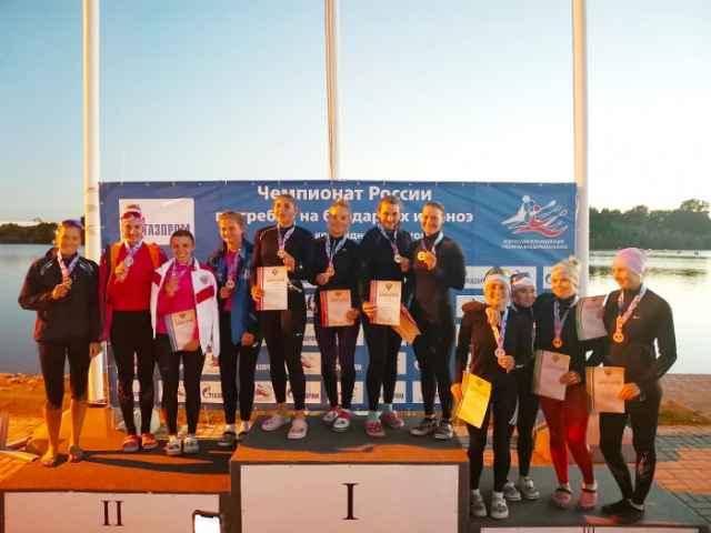 На чемпионат страны отличились Оксана Быкова, Дмитрий Иваник и Дарья Лукина.
