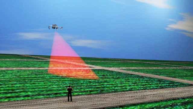 Устройство с помощью низкоинтенсивного лазерного излучения будет обрабатывать растения непосредственно на полях.