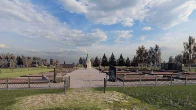 Так выглядит проект реконструкции братского воинского захоронения «Тушино».