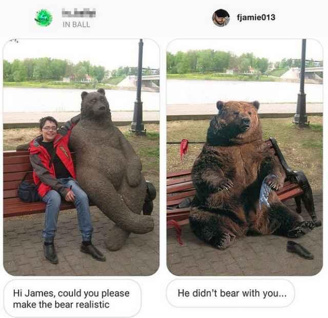 Автором скульптуры медведя стал новгородец Вадим Боровых.