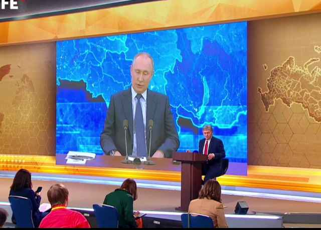 Владимир Путин: реальная зарплата может подрасти к концу года на 1,5%
