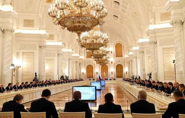 Всего в Госсовет вошли 104 человека, в том числе сам президент