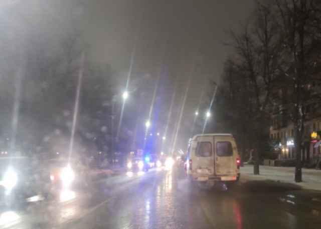 В Великом Новгороде  сбили женщину на пешеходном переходе